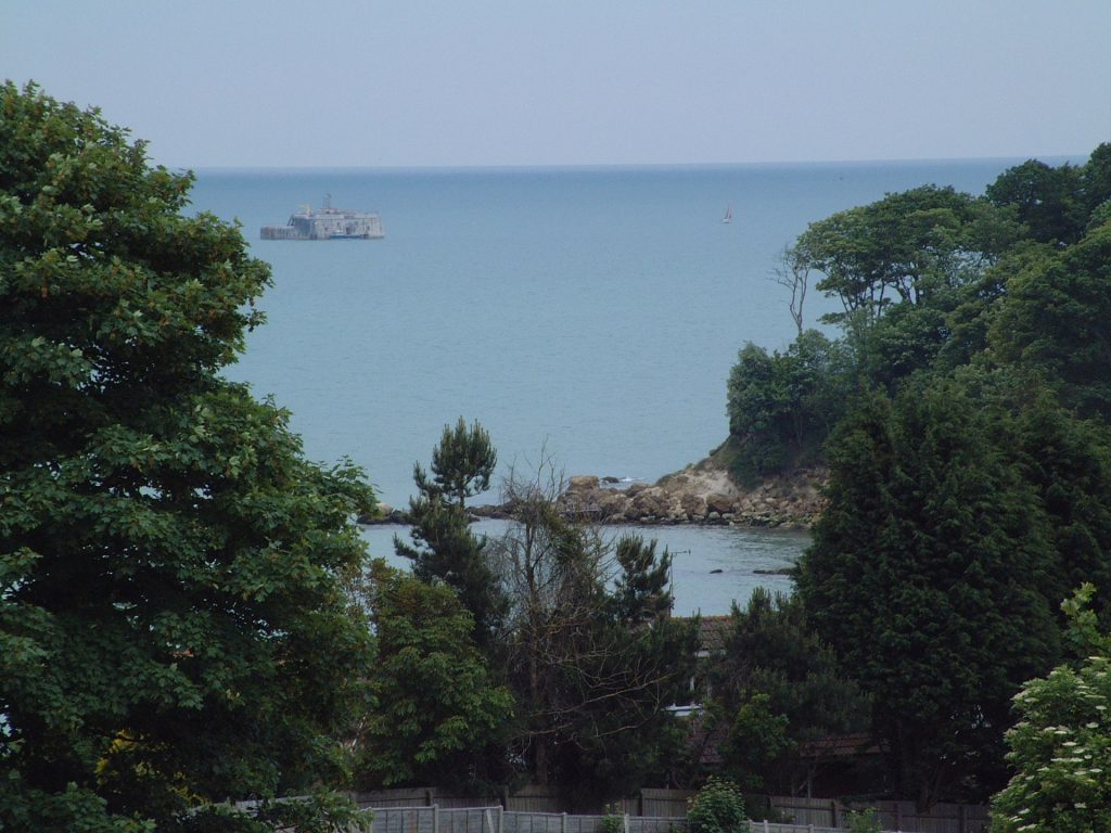 Ansell's towards Seagrove Bay