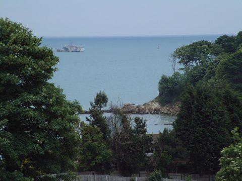 Ansell's towards Seagrove Bay