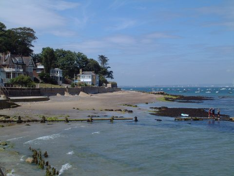 Halland towards Seaview