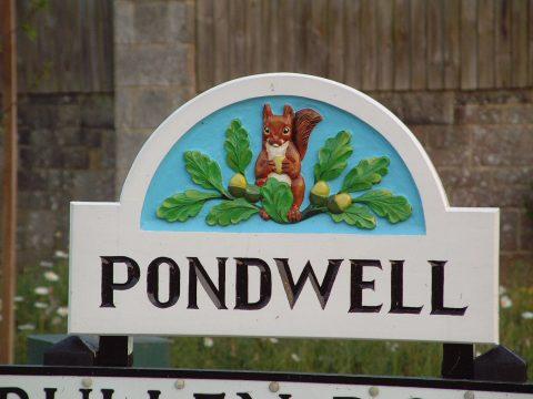 Pondwell Sign