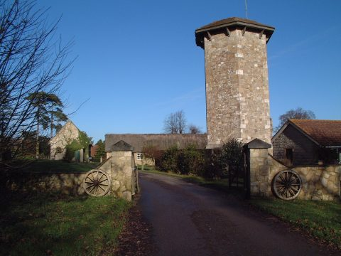 Priory Hotel Entrance