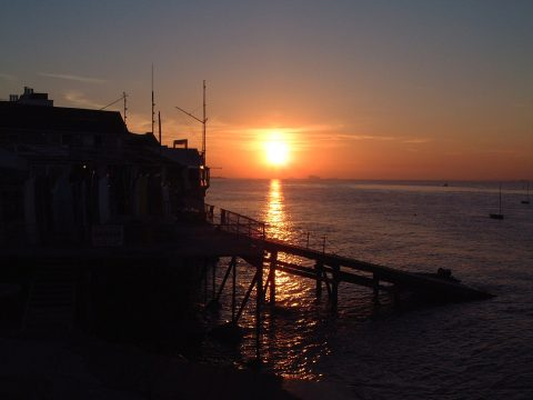 Sunset in Seaview