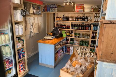 Inside Seaview Community Shop