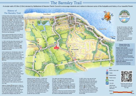 The Barnsley Trail Map
