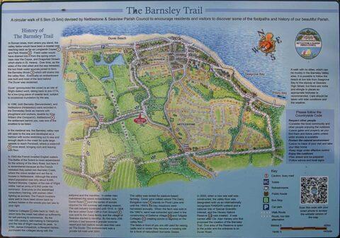 Barnsley Trail Map